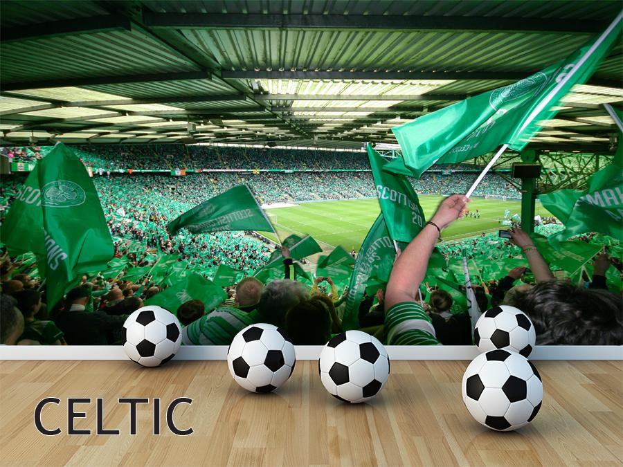 Wall Murals football Celtic