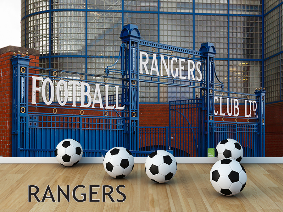 "Football Wall Murals wall murals – ""football – rangers"""